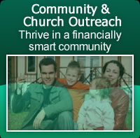 Community and Church outreach credit repair help.
